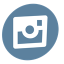 photo, Camera, network, Social, Instagram, seo, Pictures SlateGray icon