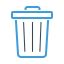delete, remove, recycling, Bin, Trash, junk, Garbage Black icon