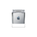 Apple, g4, cube, powermac, product Black icon