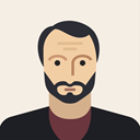 Avatar, male, person, user, old, mature, Man Linen icon