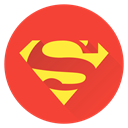 earth, Man, Super, superhero, Superman, saver Tomato icon