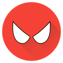 hero, Man, superhero, saver, Spiderman, Super, spider Tomato icon