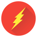 hero, earth, Man, saver, Super, superhero, Flash Tomato icon