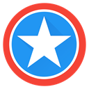 saver, Captain, America, hero, captainamerica, Super, superhero DodgerBlue icon