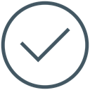 tick, success, yes, right, valid, ok, done Black icon