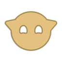 fly, points, happy, Android, Brown, bot, round BurlyWood icon