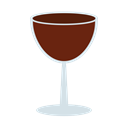 wine, Lunch, Restaurant, red, drink, dinner Black icon