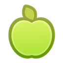juicy, Apple, healthy, Fruit, food GreenYellow icon