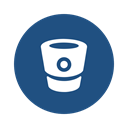 repository, branch, Manage, files, Contribute, Svn, Bitbucket DarkSlateBlue icon