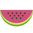 watermelon, sweet, food, Fruit, vegetable, meal IndianRed icon