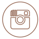 Social, Circles, media, Instagram, Pictures, neon, line Black icon