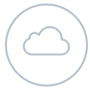neon, storage, Cloud, Social, icloud, line, Circles Black icon