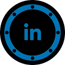 Business, btn, Communication, Linkedin, internet, network, job Black icon