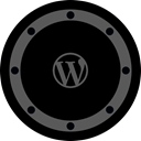 Social, Circle, site, rounded, blog, network, btn Black icon