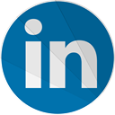 Linked in, In, Social, Linkedin, linked, modern, modern media Teal icon