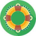 support, help, Buoy, life, lifebuoy MediumSeaGreen icon