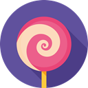 Dessert, sweet, Candy, Lollipop, food Icon