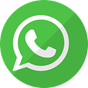 Whatsapp, internet, online, Chat, Communication, App, web LimeGreen icon
