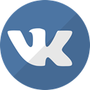 network, vkontakte, Social, media, Vk, Connection SteelBlue icon