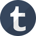 Tumbler, network, media, Communication, Social, Tumblr DarkSlateGray icon