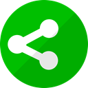 share, Sharethis, network, share it, share this, shareit Green icon