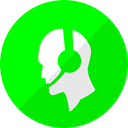 Call, Chat, comms, razer, razer comms, razercomms, Communication Lime icon