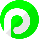 media, Plaxo, Social, network Lime icon