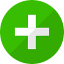 netvibes, Pluss, net, square LimeGreen icon