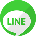 Message, talk, line, Chat LimeGreen icon