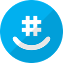 Groupme, Chat, Social, group DeepSkyBlue icon