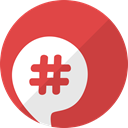 network, Social, Bebo, Communication, media, Chat IndianRed icon