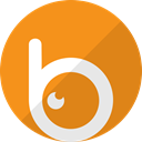 video, movie, Multimedia, Social, Badoo, media DarkOrange icon