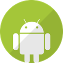 Android, green, phone, Mobile, telephone YellowGreen icon