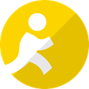 Social, Aim, network, media, search, budy, Human Gold icon