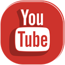 movie, player, Social, youtube, video, media Firebrick icon