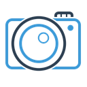 photo, Camera, photos, image, picture, photography, digital Black icon