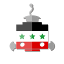 bot, Iraq, flag, telegram, Iq, robot Black icon