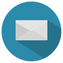 mail, Email, envelope, Communication, Letter, Message SteelBlue icon