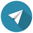send, Paperfly SteelBlue icon