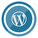 blog, website, Wordpress SteelBlue icon