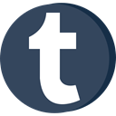 media, web, Tumblr, Connection, network, Social DarkSlateGray icon