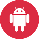 Social, online, Android, media Crimson icon