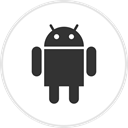 media, Social, Android, online, droid DarkSlateGray icon
