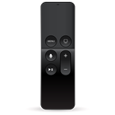 Remote, Remote control, apple tv Black icon