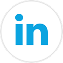 linked, Social, media, online, In DodgerBlue icon