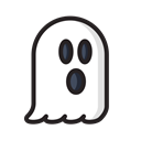 horror, monster, halloween, Ghost, Dead, phantom, scary Black icon