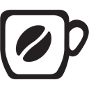 cup, Coffee, drink, tea, hot, morning Black icon