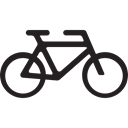 Bike, transport, cycle, Bicycle, Motorcycle Black icon