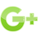 Social, Google+, media, google YellowGreen icon