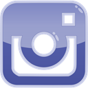 Social, Instagram, media, photo LightSteelBlue icon